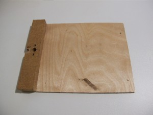 Plaque de contreplaqué 3mm