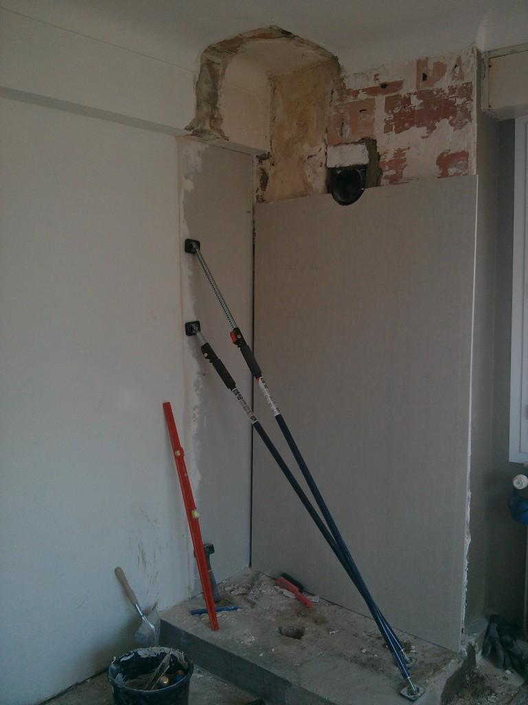A l'attaque des murs