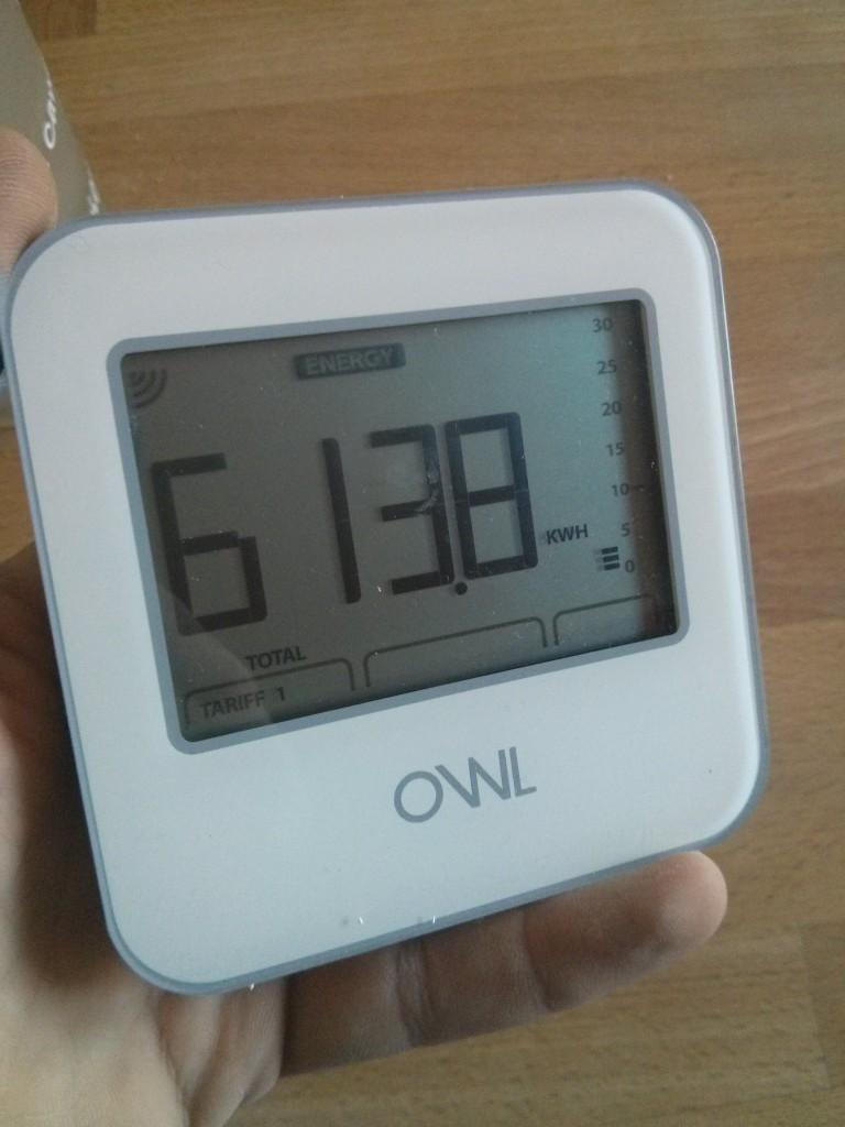 Consommation électrique - OWL180