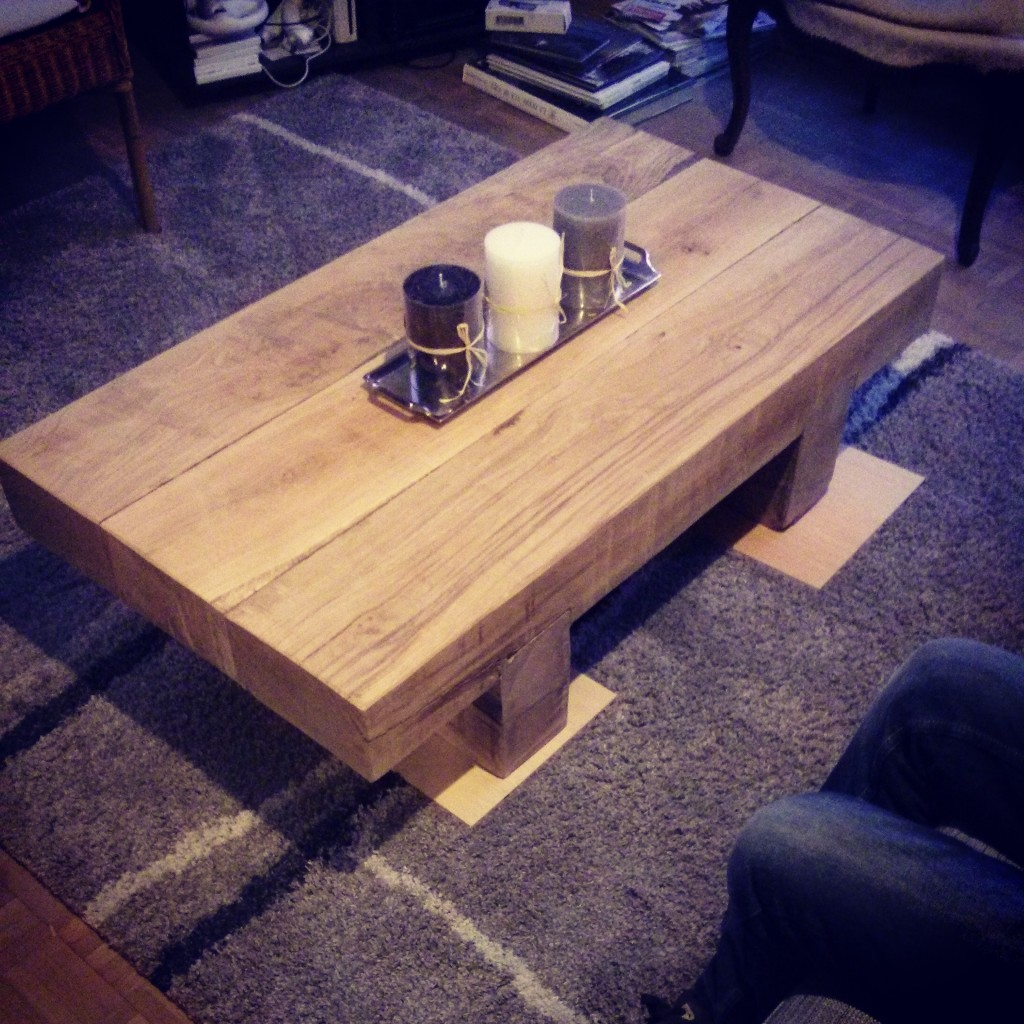La table terminée