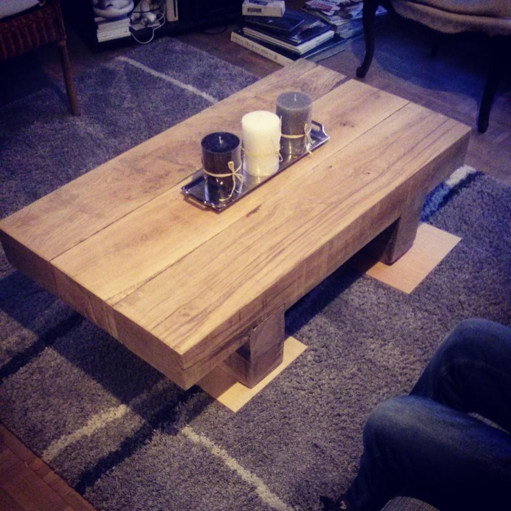 La table terminée